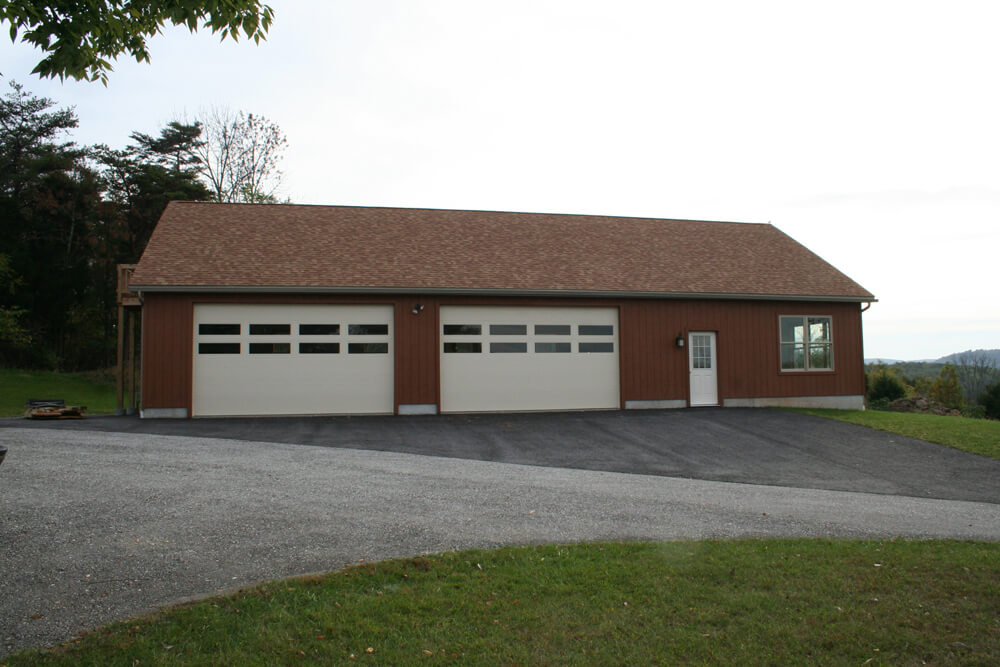 Garage with Attic